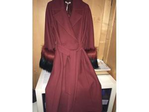 Cappotto 100% in lana taglia 44 e 46