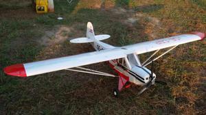 Piper J3 Cub 270 cm apertura alare pronto al volo DLE 55 cc