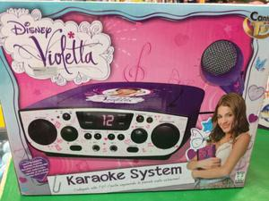 Canta Tu Karaoke System Violetta Disney Giochi Preziosi