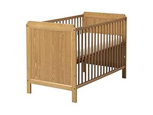 Lettino in legno Ikea Leksvik per bambini