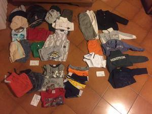 Stock abbigliamento bimbo 1 anno 18 mesi 2 anni Firmato