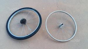 Coppia cerchi ruote da 26 per mountain bike