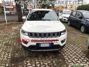 Jeep compass 1.4 tjet 140cv e6dtem limited italiana my19