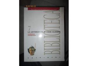 Libro intitolato La Letteratura e i suoi classici