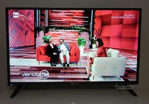 TV LED 32 pollici NORDMENDE pari al nuovo, DVB-T2