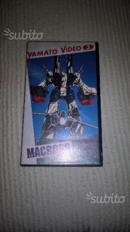 Video cassette VHS Serie Macross Robotech