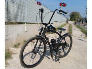 Bicicletta Bici Bike Custom Chopper Con Motore Posot Class