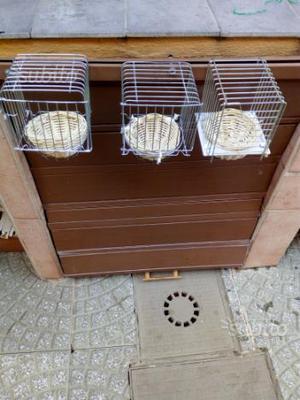 3 nidi per canarini nuove