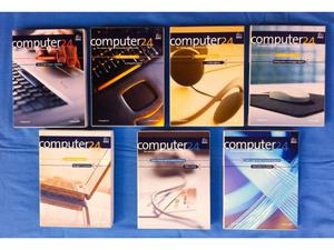 COMPUTER 24. Lotto di 7 cofanetti con libri e CD, Il sole 24