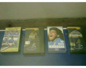 Video cassette vhs pele-maradona-spagna 82