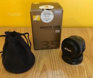 Nikon 35mm f 1.8 DX
