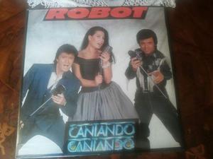 ROBOT lp cantando cantando 1a Stampa musicA  Raro