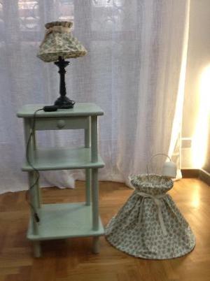 SET COMODINO E LAMPADE STANZA BIMBA