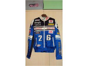 Giubbotto motociclista polo anni '80
