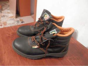 Scarpe da lavoro uomo BICAP in pelle nera N. 44
