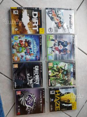 Giochi per PS3 e volante