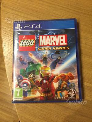 Lego Marvel super heroes PS4 nuovo