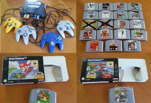 Nintendo 64 + 4 controller + 24 giochi