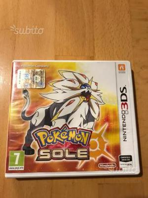 Pokemon SOLE Nintendo 3DS edizione limitata