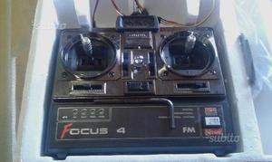 RADIOCOMANDO 4 CANALI FOCUS 4