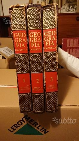 Enciclopedia della geografia anni '60