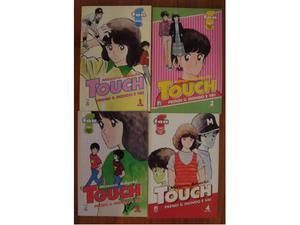 Touch - Prendi il mondo e vai (STAR COMICS) n. 1, 2, 3 e 4
