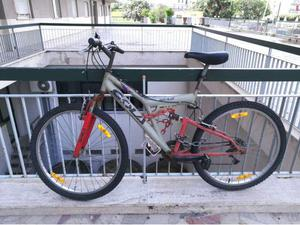 Bicicletta Mountain Bike biammortizzata 26 MTB Full