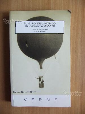 """""""Il giro del mondo in 80 giorni"""" di J. Verne"""