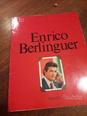Libro su Enrico Berlinguer