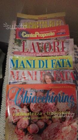 Lotto Rakam Uncinetto Filet Ricamo Maglia Posot Class