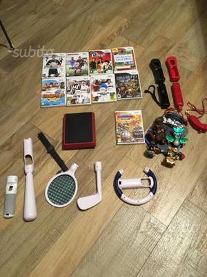 Nintendo Wii mini rossa con controller