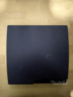 PS3 slim 320 gb con 21 giochi originali