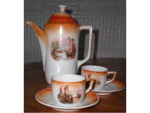 Caffettiera in porcellana anni 50