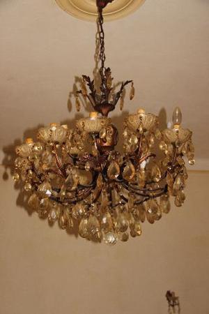 LAMPADARIO CRISTALLO LAMPADE SHABBY CHIC