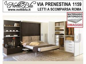 Letti a Scomparsa _ Letto Matrimoniale SE508 Materasso