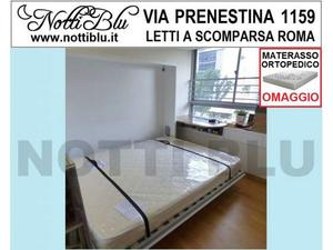 Letti a Scomparsa _ Letto Matrimoniale SE518 Materasso