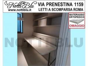 Letti a Scomparsa _ Letto Singolo SE512 Materasso Omaggio