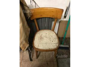 Sedie Vintage Pelle : Sedie vintage acciaio e pelle posot class