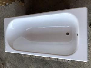 Vasca da bagno 150x70 in ghisa porcellanata NUOVA bianco