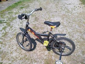 Bici bimbo 14 pollici con rotelle