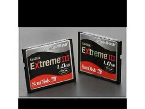 1gb sandisk extreme iii compact flash