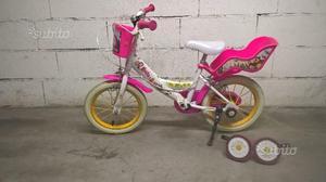 Bicicletta da bambina ruote da 14''
