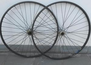 """COPPIA ruote da Corsa misura 26"""""""