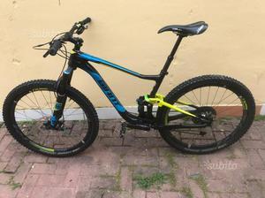 Mountain bike biammortizzata 27.5,carbonio,tagliaM