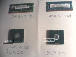 Processori e Ram DDR3 per Notebook
