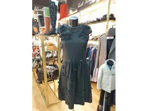 Vestito donna uf gri fiocchi twin set