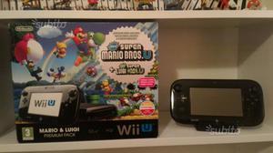 Nintendo Wii U 32GB Nera + Videogiochi