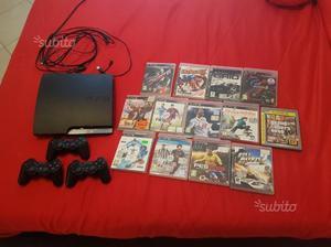 PS 3 con 15 giochi originali e 3 gestic