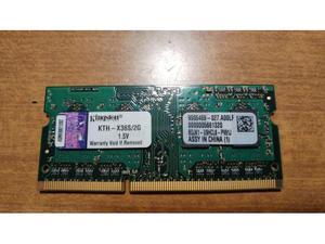 Memoria RAM Kingston DDR-3 PCMHz 2GB
