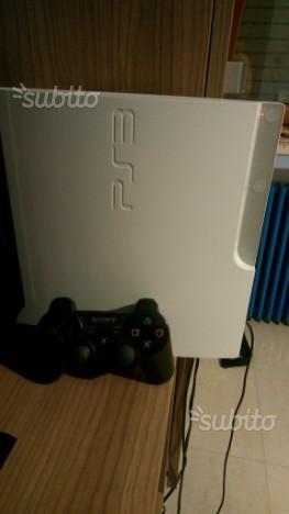 Ps3 slim bianca con joystick